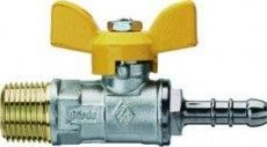 """Obrázek z kulový kohout vzorkovací plyn.3/8""""x13 M"""