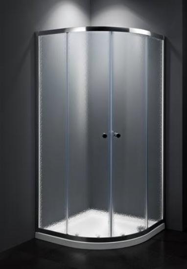 Obrázek z MULTI sprchový kout čtvrtkuh 90cm, R55, chinchilla, chrom SIKOMUS90CRCH