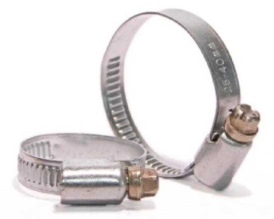 Obrázek z spona hadicová 9 mm 25-40 pozink