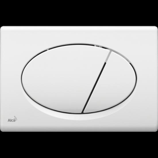 Obrázek z ALCAPLAST ovládací tlačítko dvojčinné, bílá M70