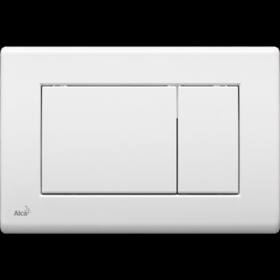 Obrázek z ALCAPLAST ovládací tlačítko dvojčinné, bílá M270